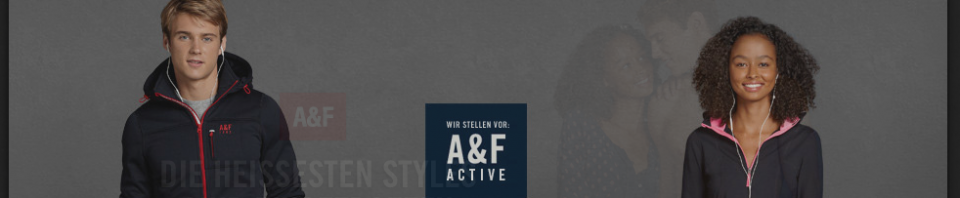 Abercrombie & Fitch die offizielle Webseite Abercrombie.com